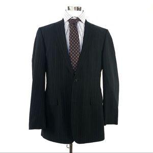 Hugo boss magenta pinstripe 44L blazer